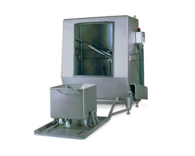 Машина для миття 200-літрових (Євро) візків AL-605