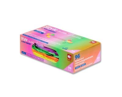 Рукавички нітрилові без пудри Ampri Tutti Frutti 01175-M