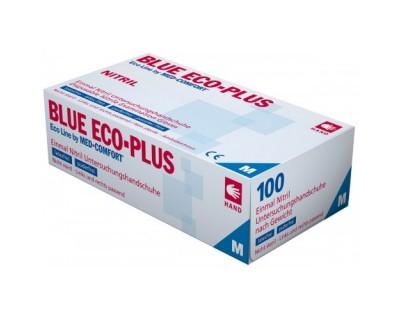 Рукавички нітрилові без пудри Ampri BLUE ECO PLUS 01198-M