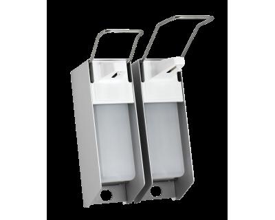 Дозатор настінний для рідкого мила Ampri 09991-KH 500 мл