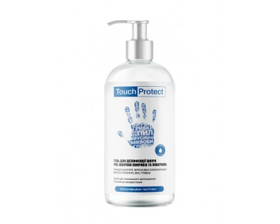 Антисептик гель для дезинфекції рук Touch Protect 467813, 500 мл.