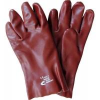 Перчатки с покрытием поливинилхлоридом Redstart 27см, Cerva