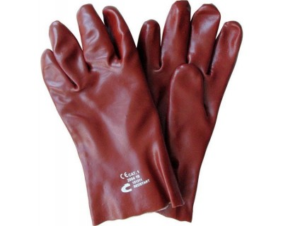 Рукавички з покриттям полівінілхлоридом Redstart 27см, Cerva