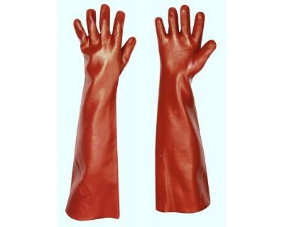 Перчатки с покрытием поливинилхлоридом Redstart 45см, Cerva