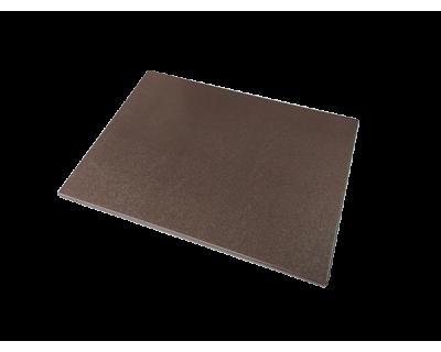 Дошка поліетиленова обробна Euroceppi 400х300х10 мм коричнева