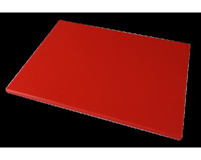 Дошка поліетиленова обробна Euroceppi 400х300х10 мм червона