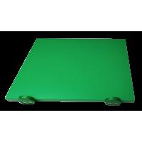 Дошка поліетиленова обробна Euroceppi з обмежувачами 500х300х20 мм зелена