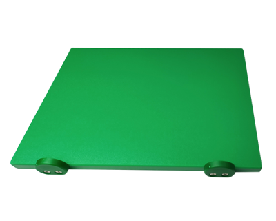 Дошка поліетиленова обробна Euroceppi з обмежувачами 500х400х20 мм зелена