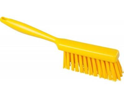 Щетка ручная FBK 10254 340х35 мм желтая (очень мягкий ворс)