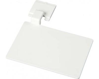 Маркировочный значок для алюминиевого рельса FBK 80002 белый