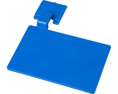 Маркировочный значок для алюминиевого рельса FBK 80002 синий