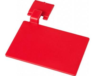 Маркировочный значок для алюминиевого рельса FBK 80002 красный