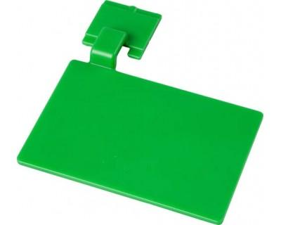 Маркировочный значок для алюминиевого рельса FBK 80002 зеленый