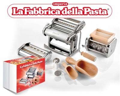 Машина для розкатування тіста ручна La Fabbrica della Pasta
