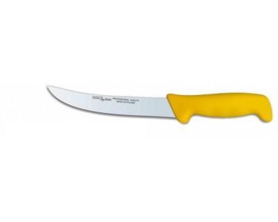 Ніж обробний Polkars №23 210мм з жовтою ручкою