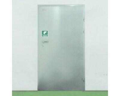 Легкі холодильні двері навісні з нержавіючої сталі