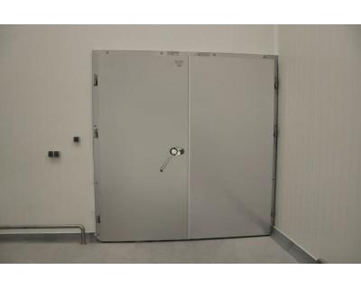 Морозильні двері розпашні з нержавіючої сталі