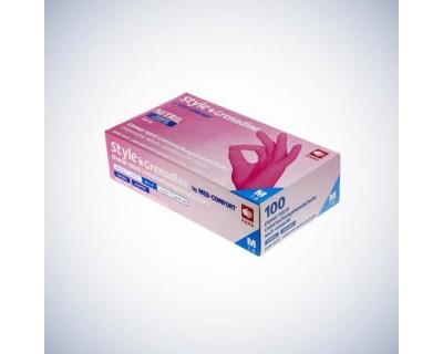Рукавички нітрилові без пудри Ampri Style Color Grenadine 01182 M