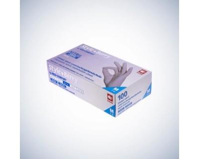Рукавички нітрилові без пудри Ampri STYLE COLOR BERRY 01184-XL