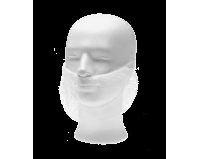 Наборідник одноразовий зі спанбонду, білий, (100 шт/пач), 21181