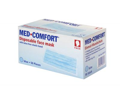 Маска захисна Med Comfort жовта, 02201-Y фильтр ≥98%, тип IIR