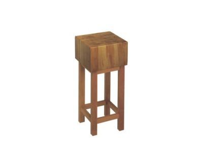Колода дерев'яна Euroceppi 50х50х30 см на підставці