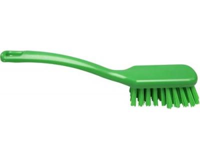 Щітка ручна FBK 10203 270х47 мм зелена (жорсткий ворс)