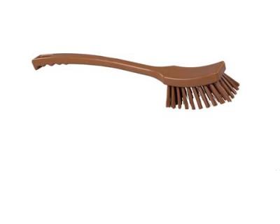 Щетка с длинной рукояткой FBK 10215 410х45 мм коричневая