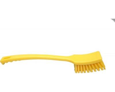 Щітка з довгою рукояткою FBK 10215 410х45 мм жовта