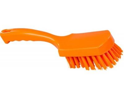 Щітка ручна FBK 10546 275х70 мм помаранчева (середньої жорсткості)