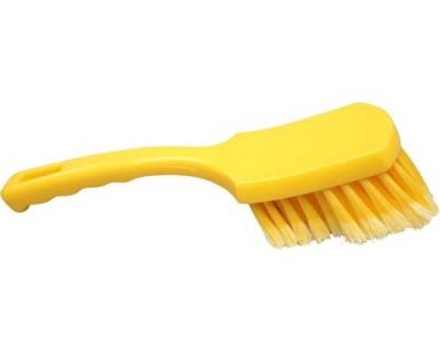 Щетка ручная FBK 10547 275х70 мм желтая (мягкий ворс)