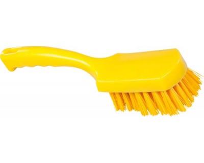 Щітка ручна FBK 10548 275х70 мм жовта (жорсткий ворс)