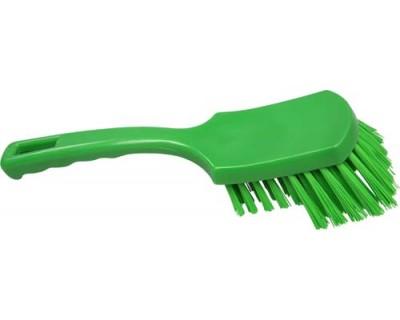Щітка ручна FBK 10549 275х70 мм зелена (жорсткий ворс)