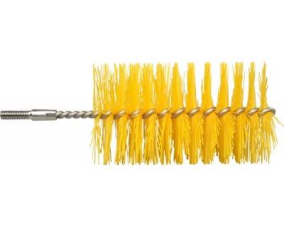 Щетка-ерш (насадка на трос) FBK 10776 Ø60 мм желтая