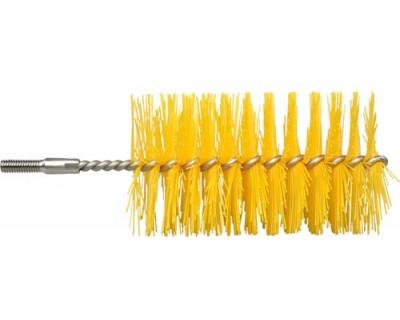 Щетка-ерш (насадка на трос) FBK 10778 Ø80 мм желтая