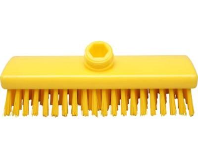 Щетка-скраб FBK 15000 225х60 мм желтая