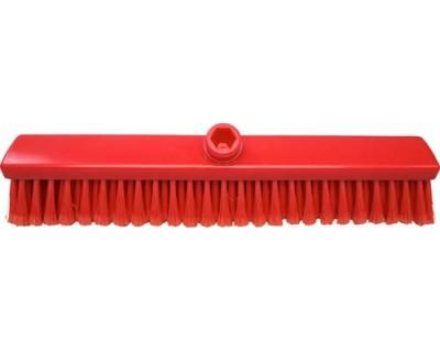Мітла FBK 15004 400х50 мм червона з посіченою щетиною