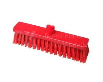 Щітка підмітальна FBK 15005 280х50 мм червона з посіченою щетиною