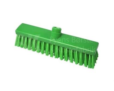 Щітка підмітальна FBK 15005 280х50 мм зелена з посіченою щетиною