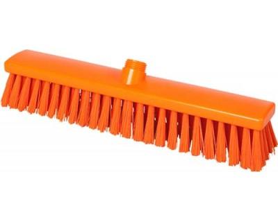 Метла средней жесткости FBK 15009 400х60 мм оранжевая