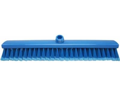 Метла подметальная FBK 15020 500х60x55 мм синяя с посеченой щетиной