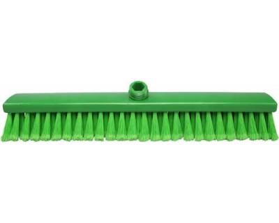 Мітла підмітальна FBK 15020 500х60x55 мм зелена з посіченою щетиною