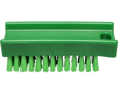 Щетка для мытья рук FBK 15060 110х45 мм зеленая (средней жесткости)
