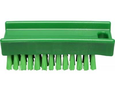 Щетка для мытья рук FBK 15061 110х45 мм зеленая (жесткий ворс)