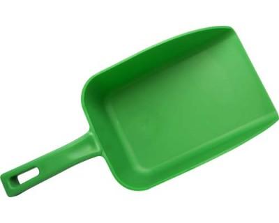 Совок FBK 15106 136х185х310 мм зелений