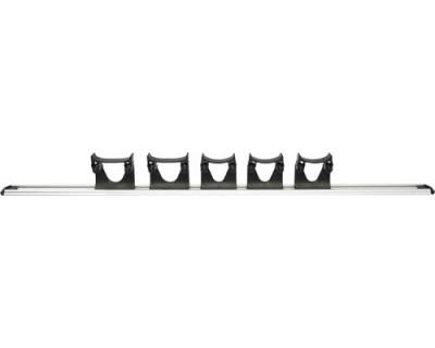 Настенная система держателей FBK 15157 черная 900 мм