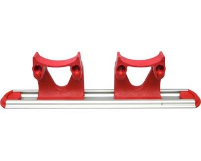 Настінна система тримачів FBK 15158 червона 300 мм