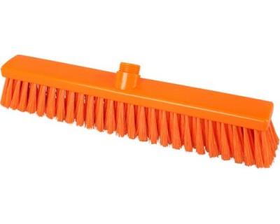 Метла подметальная FBK 15204 оранжевая 400х50 средней жесткости