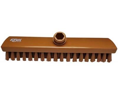 Щітка для підлоги FBK 300х60 мм коричнева 43153