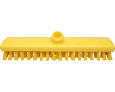 Щетка для пола FBK 300х60 мм желтая 43153-4